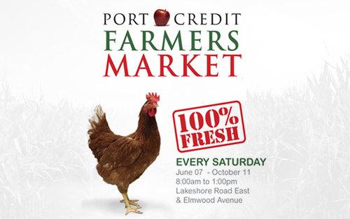 Port Credit's Farmers Market