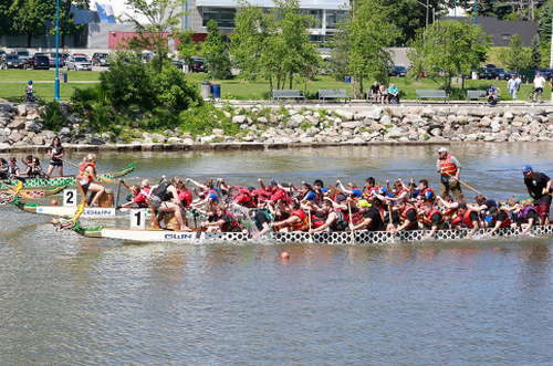 The Mississauga Canoe Club & the Don Rowing Club